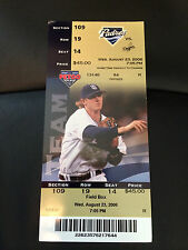 2006 San Diego Padres vs LA Dodgers Season Ticket Stub Khalil Greene Aug 23