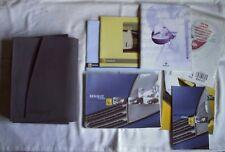 Renault Clio manuales del propietario en la carpeta de tela/Cartera & remolque + Radiosat guías