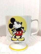Vintage Mickey Mouse Coffee Tea Cup Mug Walt Disney Productions