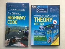 Théorie Kit Test officiel Façade complète pour PC/MAC & code de la route Livre (Free p&p)