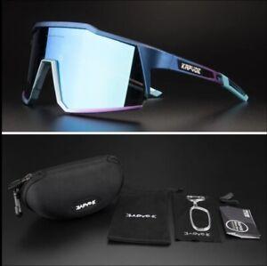 KAPVOE Unisex Cycling  Road Bike Hiking Jogging Mountain Fishing Sunglasses