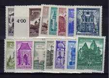 AUTRICHE - OSTERREICH n° 869A/874A neuf sans charnière