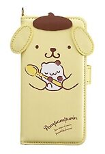 Sanrio Pom Pom Purin iPhone X Die-Cut Book Case Free Ship w/Tracking# New Japan