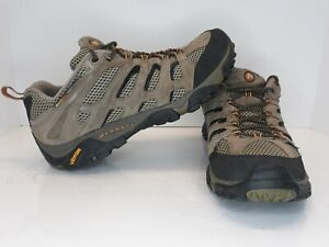 Merrell Moab Ventilator Walnut Continuum Mens size 10 Hiking shoe 86595 Vibram