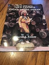 CARVE FOLK FIGURES & CIGAR-STORE INDIAN Harold L. Enlow SIGNED Book WOODCARVING