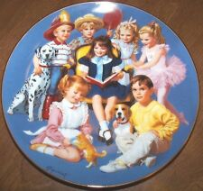 Come Gather Round - Elaine Gignilliat - Children of the Week Collector Plate