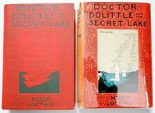Hugh Lofting DOCTOR DOLITTLE AND THE SECRET LAKE in dj