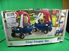 NEW Factory Sealed Little Tikes Red White Blue Cozy Coupe Go Ride on Toy