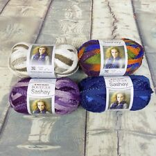 Red Heart Boutique Sashay Yarn Super Bulky 30g 100yds Multi Color Ball x 4