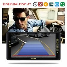 "9"" 2DIN Car Radio MP5 MP3 Player Quad Core Android GPS Bluetooth FHD Camera"