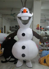 New Olaf Mascot costume Fancy Dress Adult Size fast shipping method