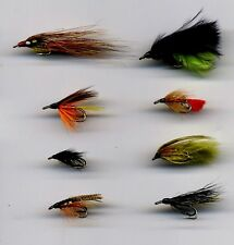Trout: Wee Doubles: x 8 size 10 &12 assorted  (Code 608)