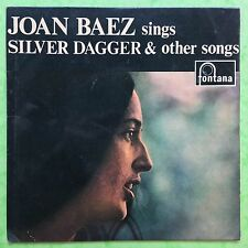 Joan Baez sings Silver Dagger & Other Songs - Fontana TFE-18005 VG+