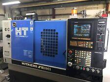Hitachi Seiki HITEC-TURN20s III CNC Turning Center with Chip Conveyor & Manuals