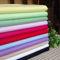 NE_ JW_ FT- Pure Color Cotton Home Furnishing Decor Hand DIY Patchwork Twill Bed