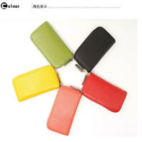 Unisex Car Key Holder Credit Card Holders Multifunctional Zipper Wallet Cases L