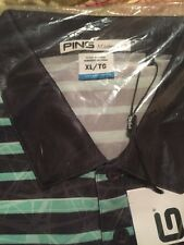 Ping Men's XL Golf Polo Shirt/New in package with tags/Unique Color/Retail $65