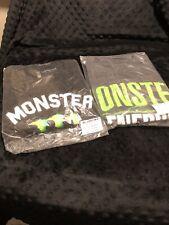 Monster Energy  2 Mens T-shirt Brand NEW! X-LARGE Sealed Pack