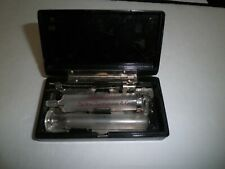 BECKTON DICKINSON ANTIQUE GLASS SYRINGE IN THE CASE