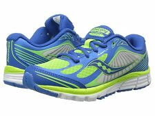 Saucony Boys Kinvara 5 Blue/Green Lace Sneakers Youth/Boys Size 13 M