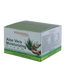 Patanjali Aloevera Natural Moisturizing cream  for smooth & beautiful skin 50g