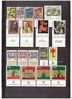 S15163) Israel MNH 1972 Complete Year Sets 30v