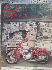 revue technique motocycliste n 81 j1959 twin triumph 500 et650c  automoto vml