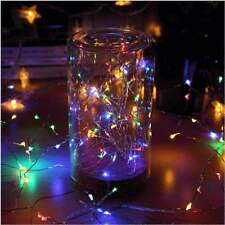 MultiColor 10M Copper Wire 100 LEDs String Fairy Light Xmas Tree Room Decor IP65