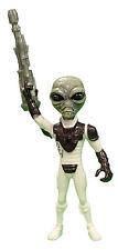 Alien Power 6 Inch Evil Alien with Ray Gun Accessory (White)
