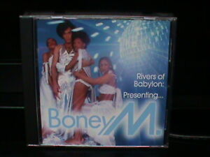 """BONEY M  PRESENTING RIVERS OF BABYLON (INCL.12"""" VERSIONS)  CD.....QUALITY  USED"""