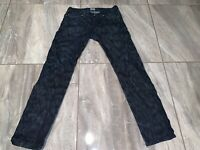 Naked & Famous Denim MENS 34 X 34 JEANS Distressed