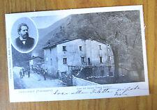 CARTOLINA VALDICASTELLO PIETRASANTA CARDUCCI RARA VIAGGIATA 1905 SUBALPINA QQ