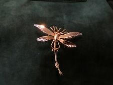 LARGE MODERN 9 CT GOLD DRAGON FLY BROOCH 4.46gms ,by Fraser Hart Full HM