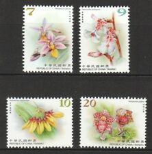 REP. OF CHINA TAIWAN 2018 WILD ORCHIDS FLOWERS SERIES III COMP. SET OF 4 STAMPS