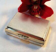 kleine Pillendose 925 Silber mit Emaille Dose Schachtel Utensil Büchse / bn 535