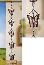 New listing Decorative Butterfly Iron Rain Chain
