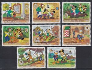 Z465. Caicos Islands - MNH - Cartoons - Disney's - Six Soldiers of Fortune