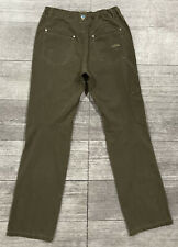 KUHL Revolvr Quick-Dry Stretch Pants  Youth Boys LG (14/16) *Adjustable*  MINT!