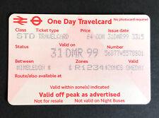 More details for millennium eve london travelcard zones 1234 wimbledon vgc memorabilia 31.12.1999