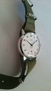 Celier Army movement vintage military style mechanical watch