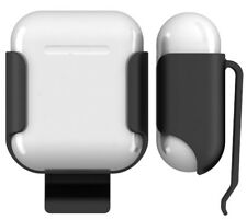 BLACK BELT CLIP HOLSTER CASE FOR APPLE AIRPODS