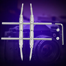Spanner Wrench Repair Opening Open Tool Stainless Steel for DSLR Camera Lens TP