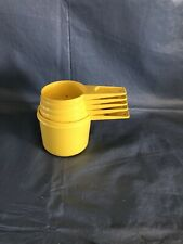 Tupperware measuring cups set of 5
