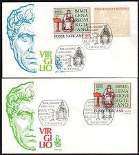 Vaticano 1981 FDC Venetia Club Bimillenario Virgiliano