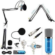 Professional Recording Studio Condenser Microphone Kit Broadcast Equipment Audio