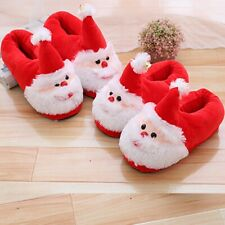 Cartoon Christmas cotton shoes slippers plush  Home lovers shoes Christmas gift