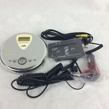 Sony Walkman D-Nf400 Atrac3Plus Mp3/Fm/Am Cd Player and Coby cassette adapter
