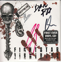 FIGHTSTAR Deathcar 2007 UK limited SIGNED / AUTOGRAPHED vinyl/CD single SEALED