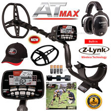 Garrett AT Max Metal Detector Z-Lynk Wireless Headphones, Hat, Coil Cover & More