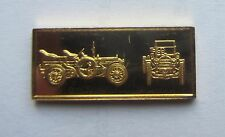 Gold Over Silver Bar / Ingot 1903 Mercedes Sixty Worlds Great Performance Car